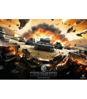 plakát World of Tanks